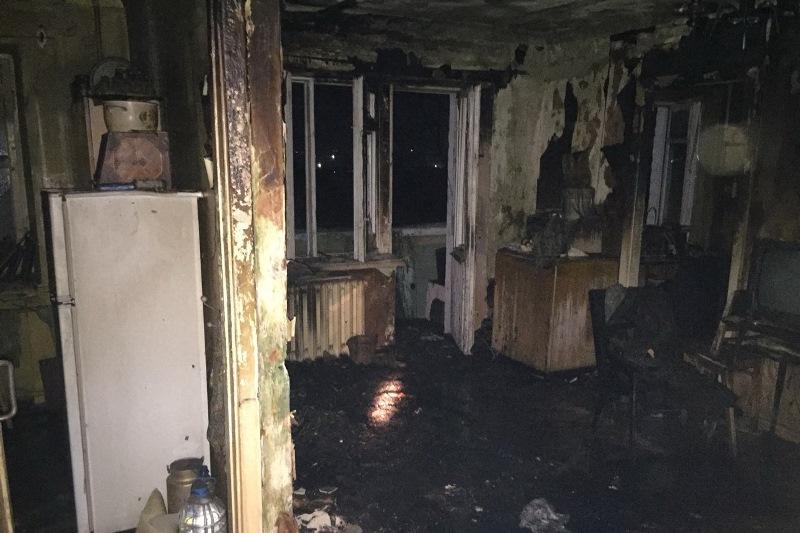 Пожар по проспекту Гагарина: Погиб 66-летний мужчина (ФОТО)