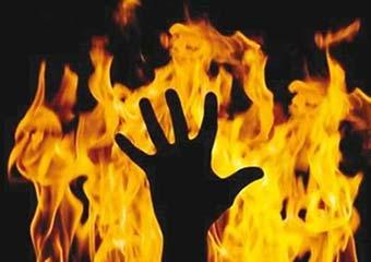 Пожар в Харькове. Взрослые и дети задыхались от сильного дыма