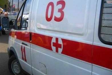 В Харькове женщина выпала из трамвая