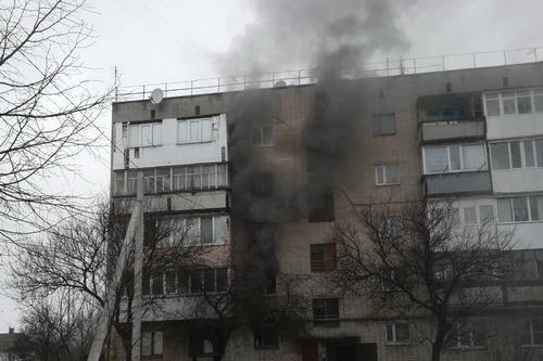 ЧП в Харьковской области. Люди звали на помощь и в панике метались по зданию (фото)