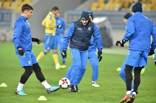 Харьков примет сборную Украины по футболу