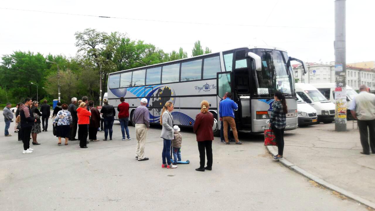 В Харьковской области водителю международного автобусного рейса подсунули неприятный сюрприз (фото)