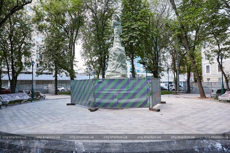 Скандальный памятник скоро откроют в Харькове