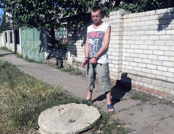 В Харькове бывший осужденный обогатился во время тайных вылазок