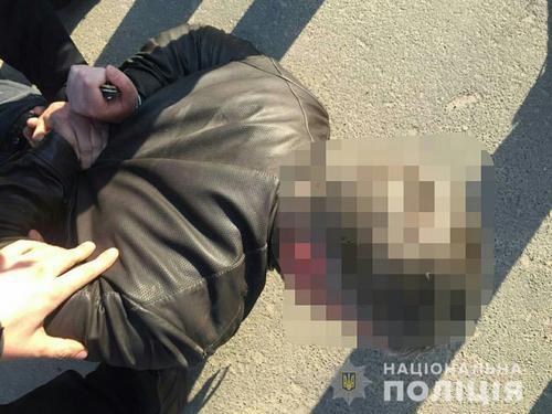 Опубликовано видео задержания банды, которая нападала на харьковских инкассаторов