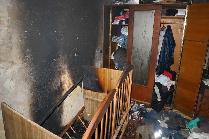 ВХарькове пожарные вынесли изогня 2-х детей