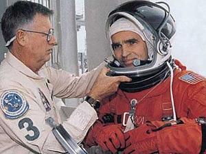 В парке скончался первый украинский космонавт