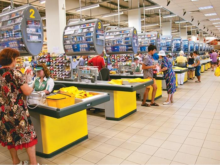 Харьковские студенты отличились в супермаркете