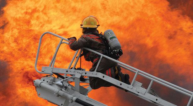 Крупный пожар в Харькове (ФОТО)