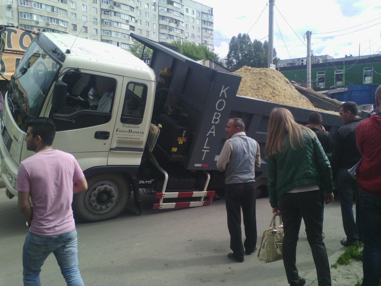 Провальное ЧП на Салтовке (ФОТО, ВИДЕО)