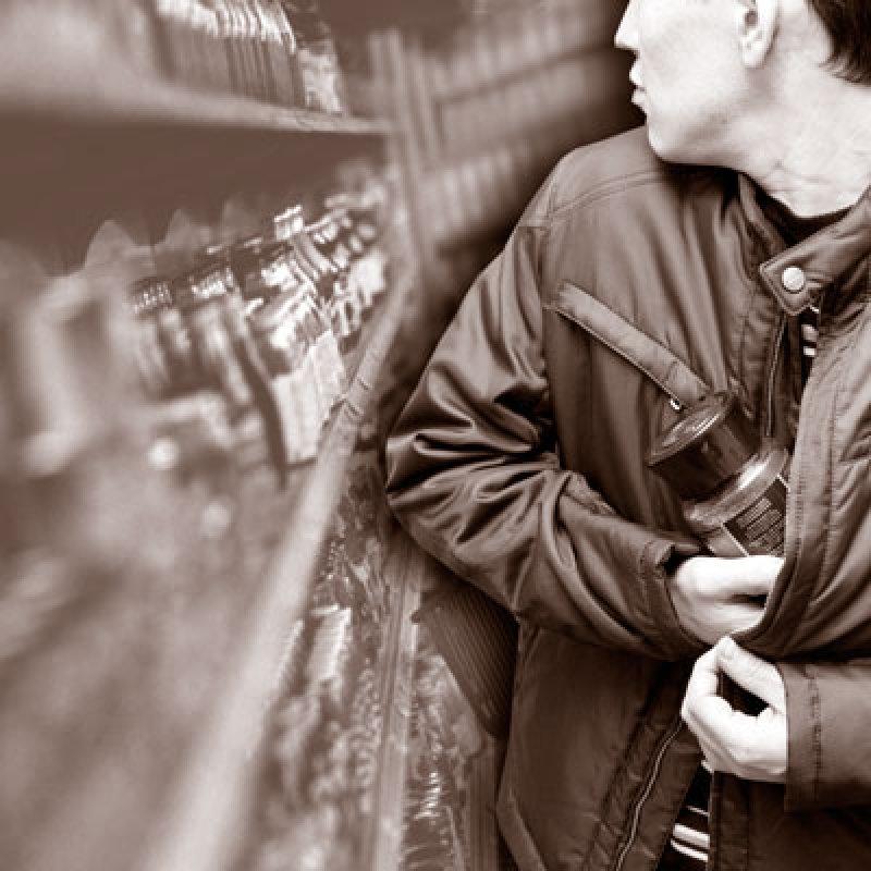 Наглый покупатель извел охрану супермаркета
