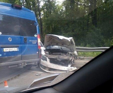 Жуткая авария на окружной (ФОТО)