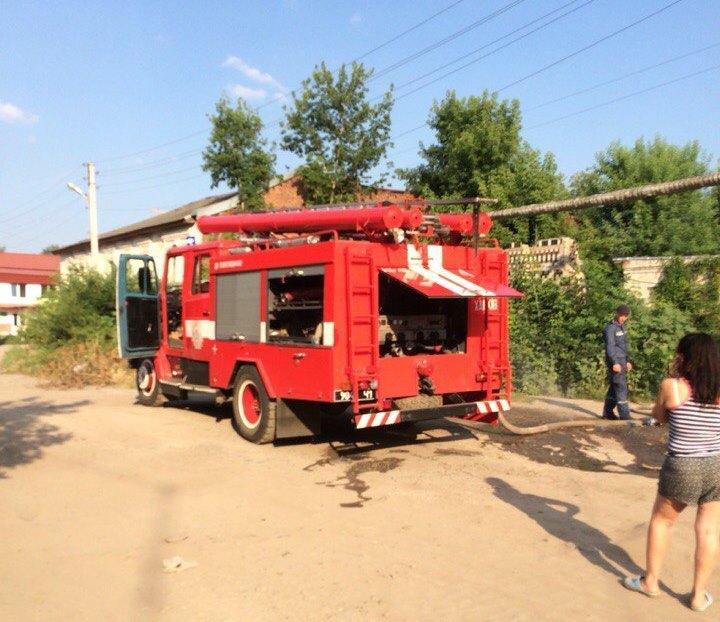 ЧП на подстанции в Харькове (ФОТО)