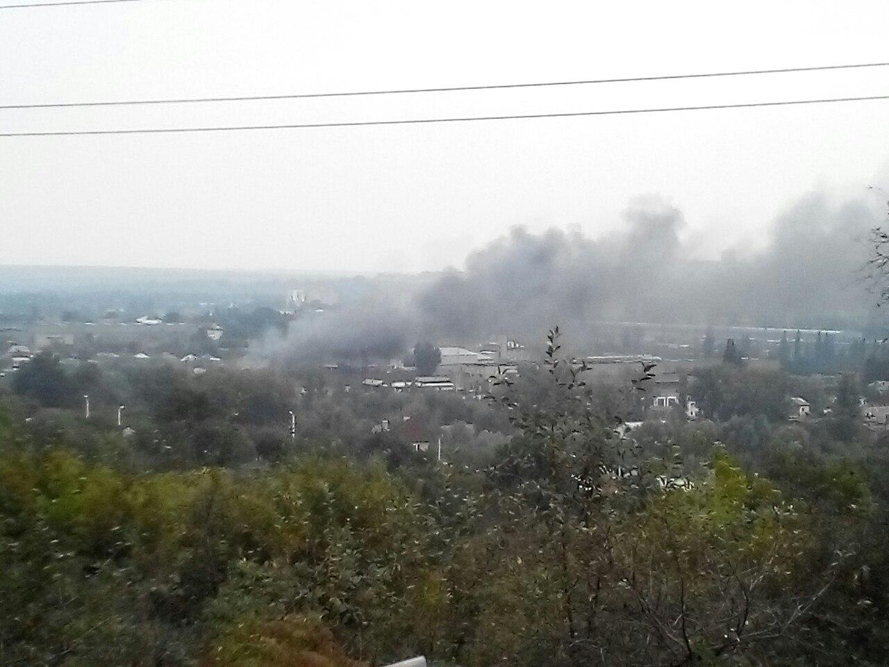 На окраине Харькова сгорели тысячи долларов