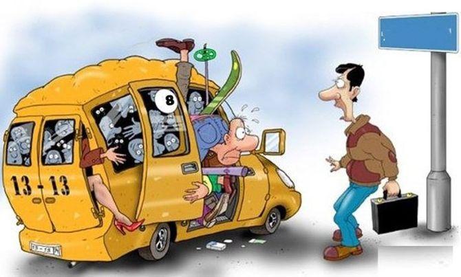 Половина харьковских маршруток ездит с нарушениями