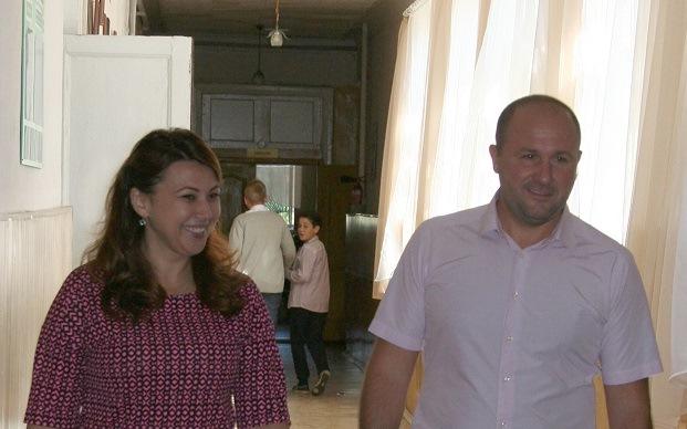 Харьковская школа к юбилею получила подарок