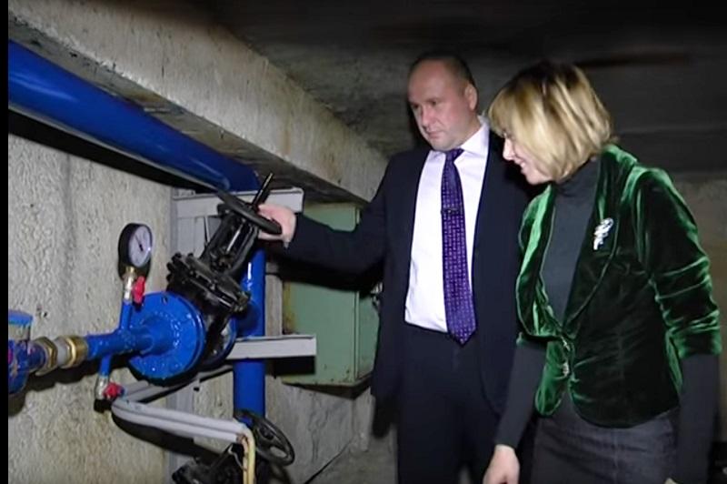 В рекордно быстрые сроки в харьковском детском саду установили новый водопровод