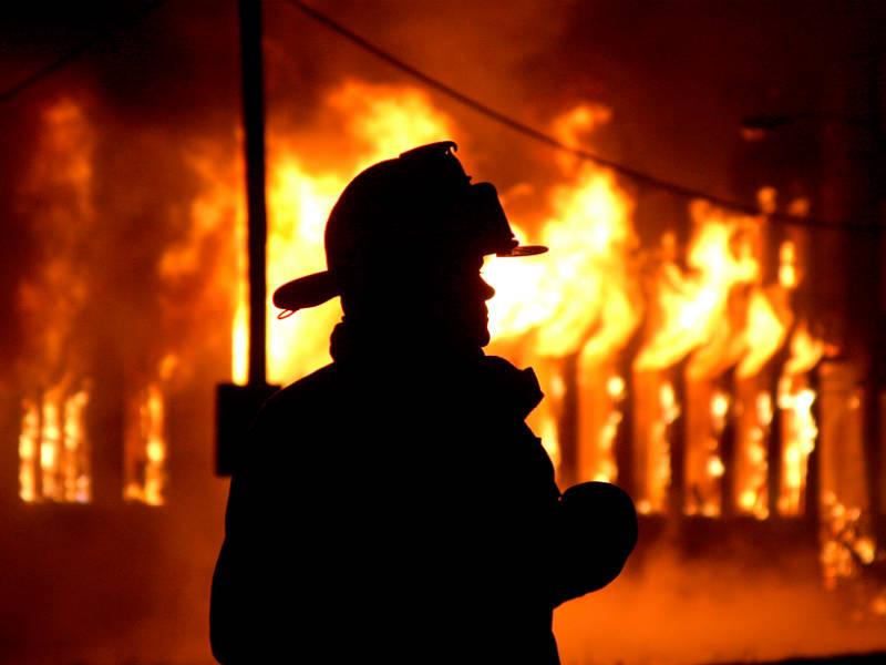 Известное здание горело в Харькове (ФОТО)