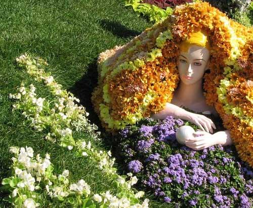 Дома в Харькове превращают в цветники (ФОТО)