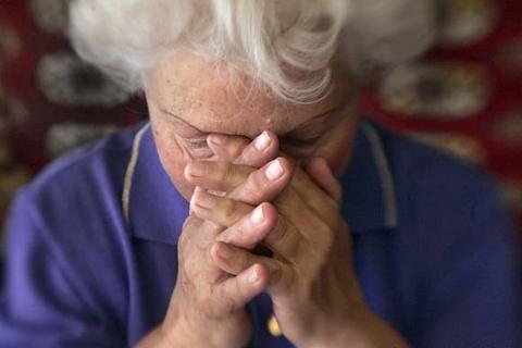 Харьковские пенсионеры испытывают судьбу
