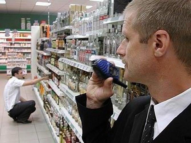 Харьковчанка довела охранника супермаркета до истерики