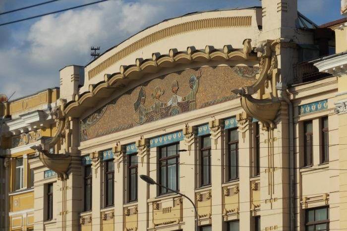 ЧП в харьковском театре. Женщину увезла скорая