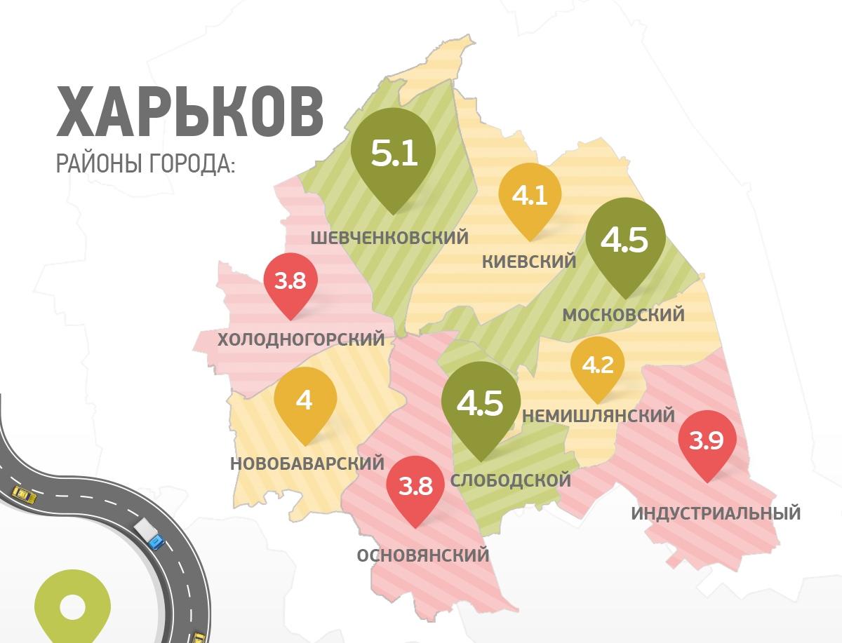 Харьков все районы картинка