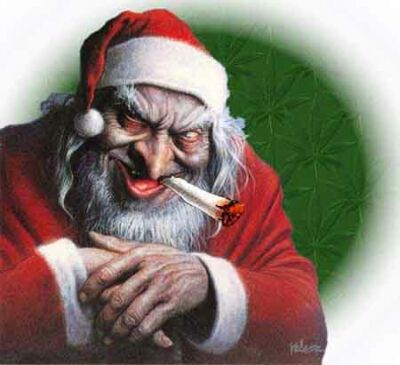 Странный Дед Мороз завелся в Харькове