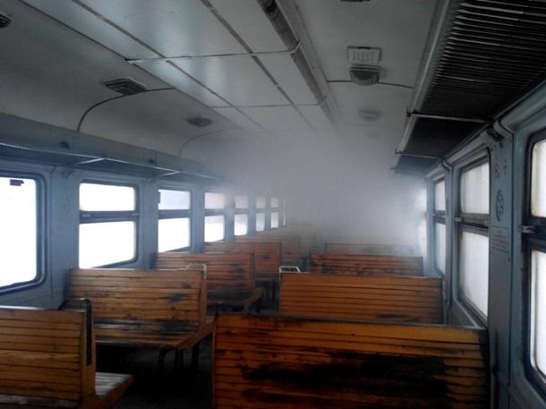 Машинист поезда бросился спасать пассажиров под Харьковом (ВИДЕО)