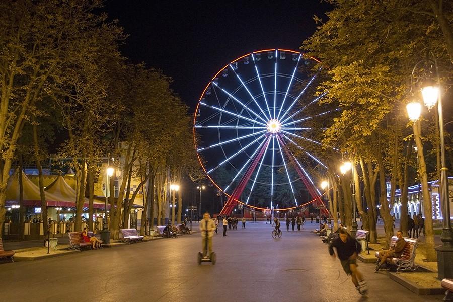 Харьковский парк прославил Украину на весь мир
