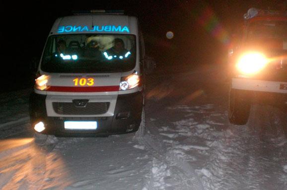 На Харьковщине медики попали в ловушку (ФОТО)