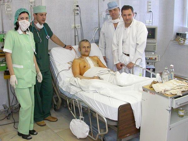 Харьковчанин с пересаженным сердцем вступился за своего спасителя