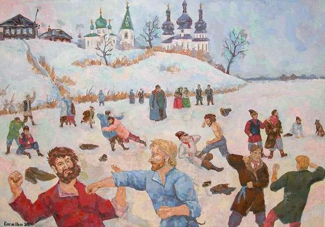 Крещенские забавы. Как праздновали в Харькове двести лет назад