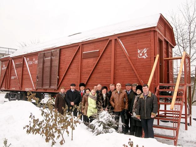 В Харькове появился музей на колесах