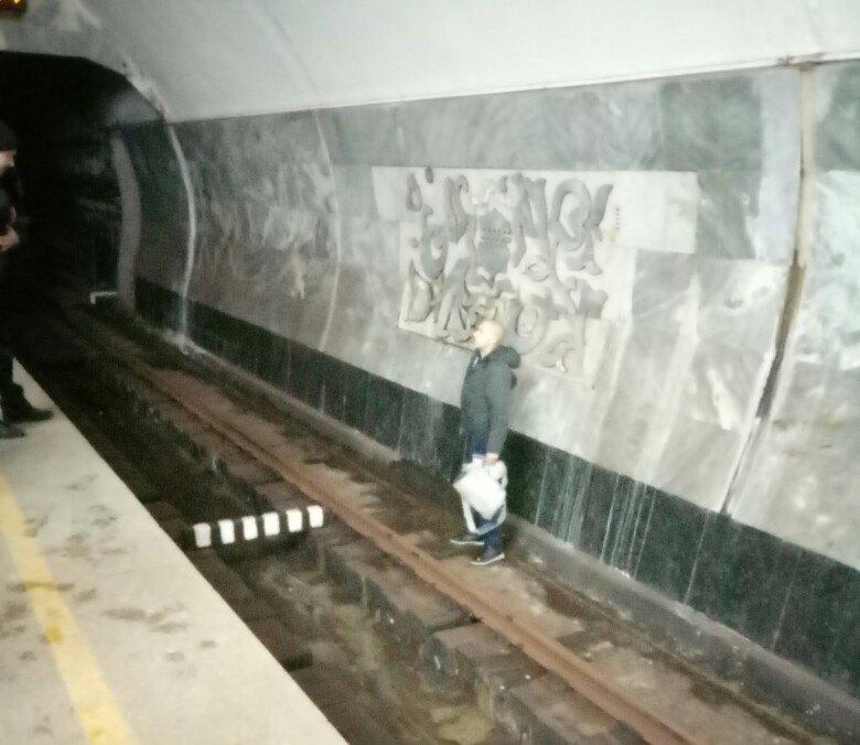 Странный пассажир переполошил сотрудников харьковской подземки