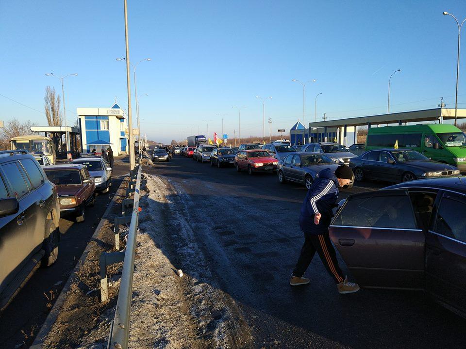 Харьковчане не смогут выехать в столицу