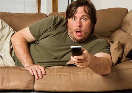 За харьковчанами следят через экраны телевизоров