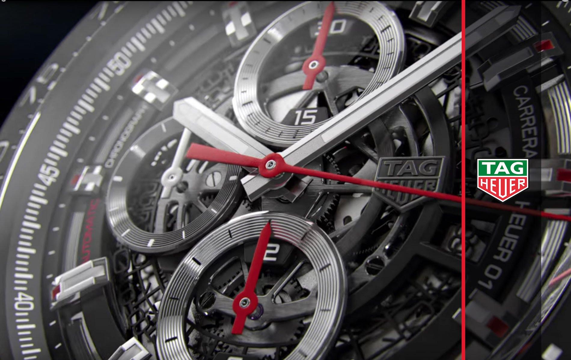 Tag Heuer - часы, измеряющие время с неуловимой для интуиции точностью
