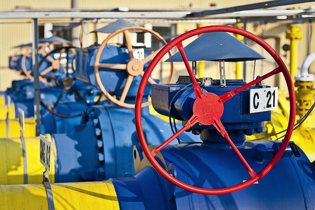 В Украине осталась треть накопленного газа