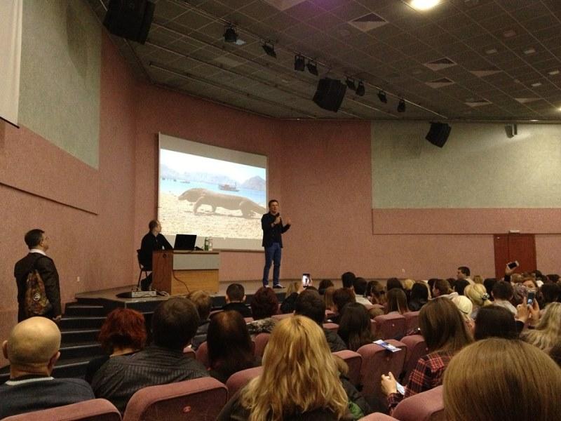 Знаменитый украинец научил харьковчан азам выживания (ФОТО, ВИДЕО)