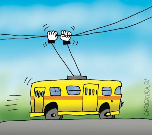 На Салтовке остановился транспорт (ФОТО)