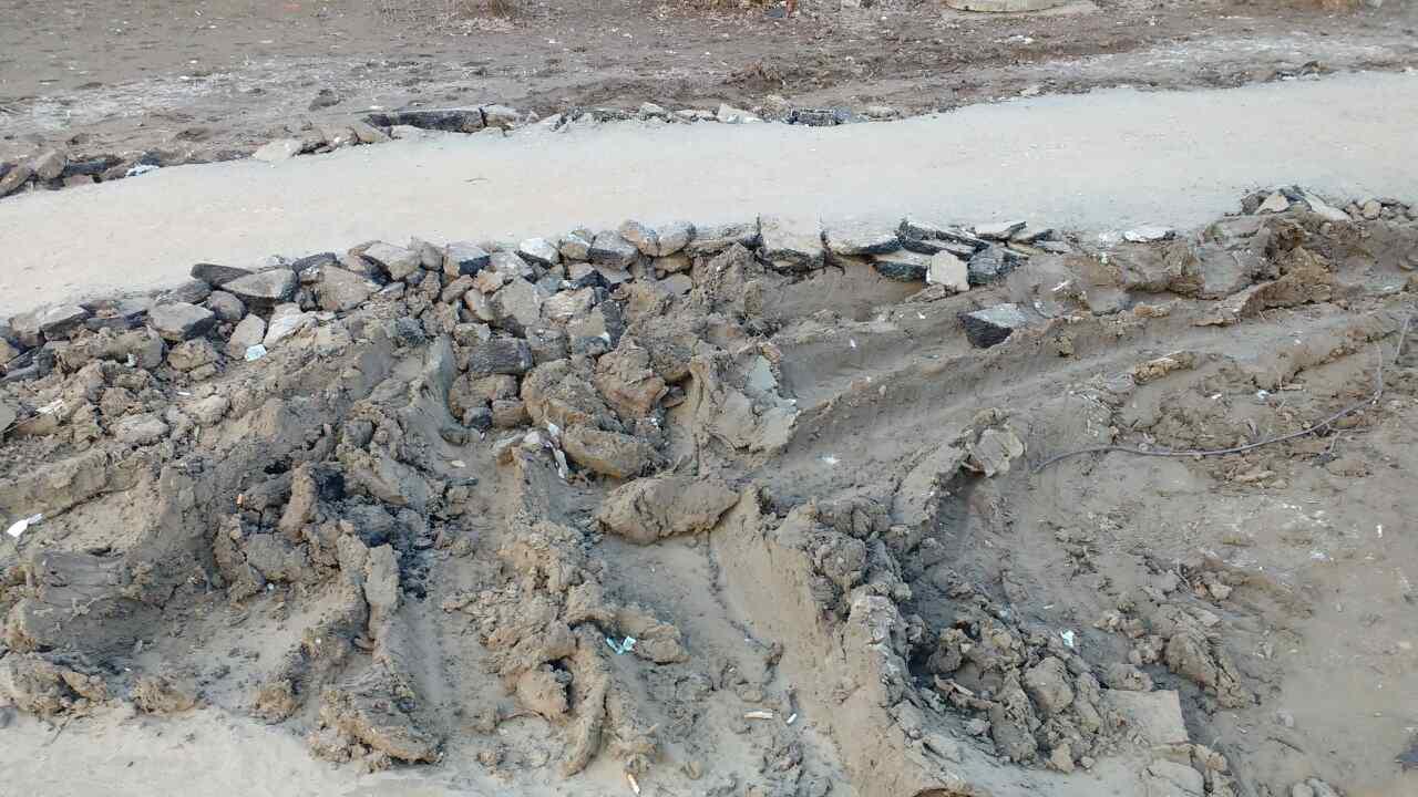 Школьников на Алексеевке втоптали в грязь (ФОТО)