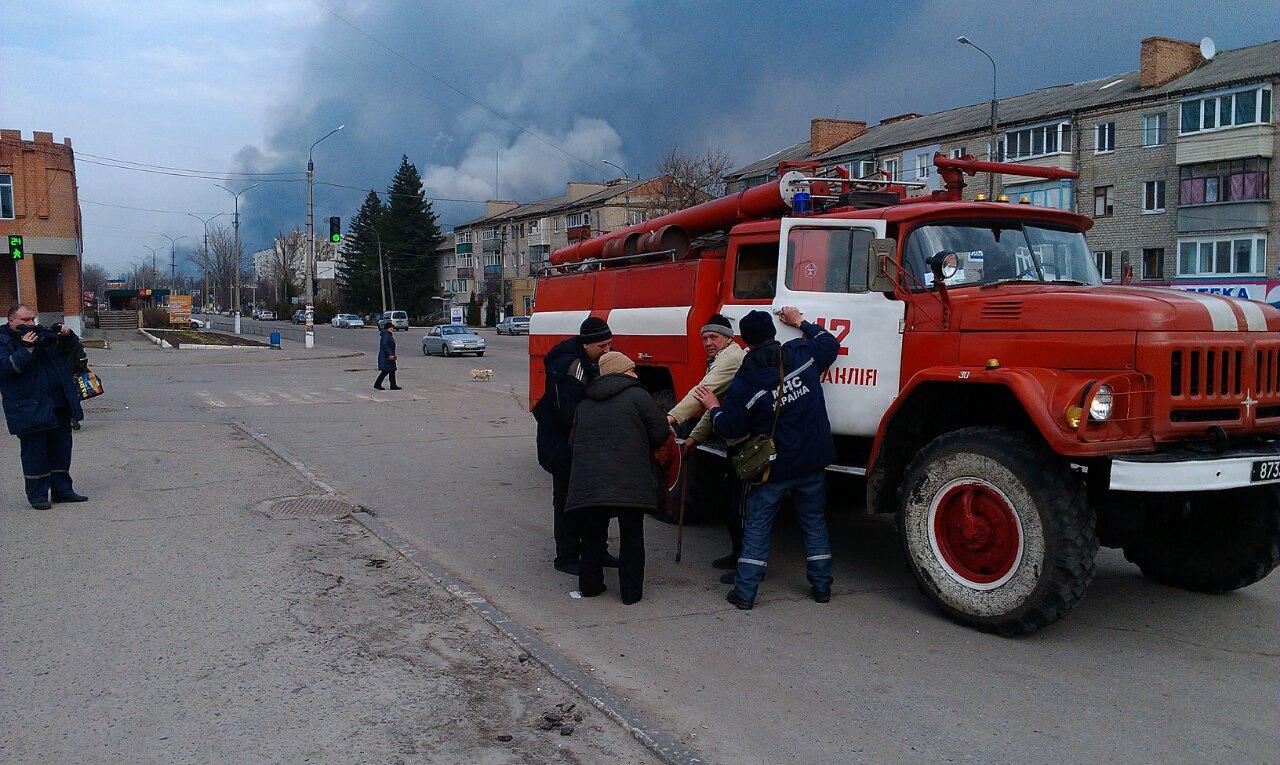 Больше десяти пожаров погасили в Балаклее