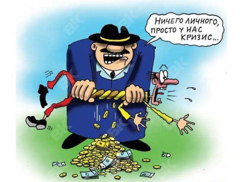 Группа харьковчан загнала высоких чиновников в угол