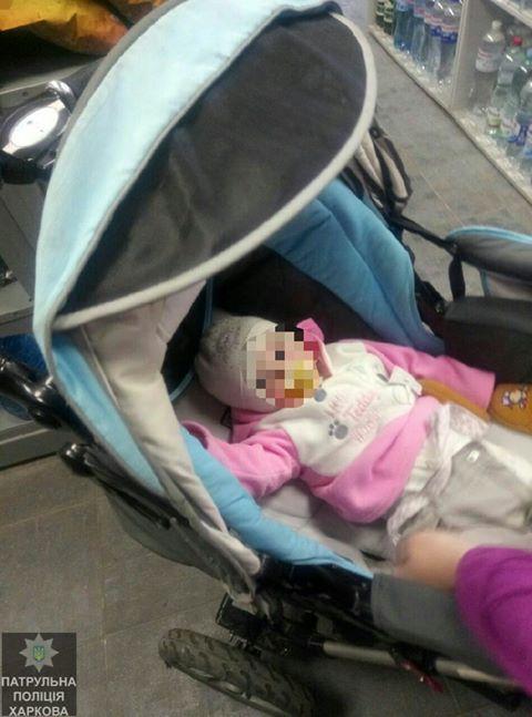 В Харькове мать променяла малыша на спиртное