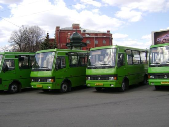 Харьковские маршрутки хотят переформатировать