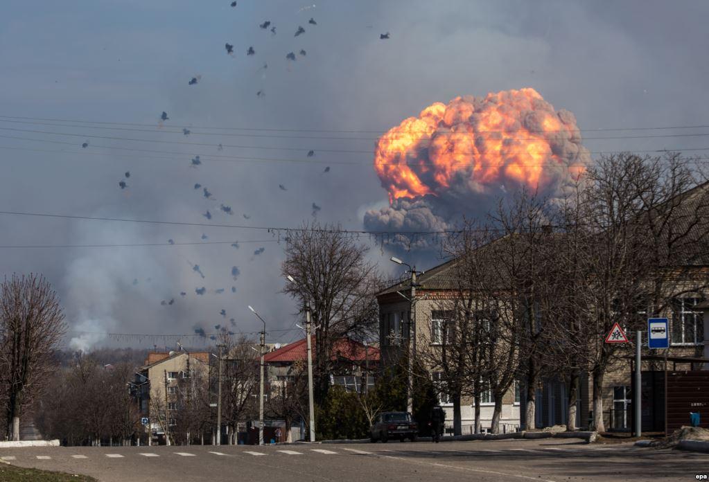 Стали известны причины масштабного ЧП в Харьковской области (видео)