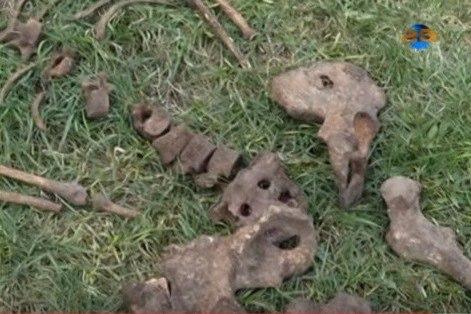 Останки генерала, найденные в Харьковской области, отправили на родину