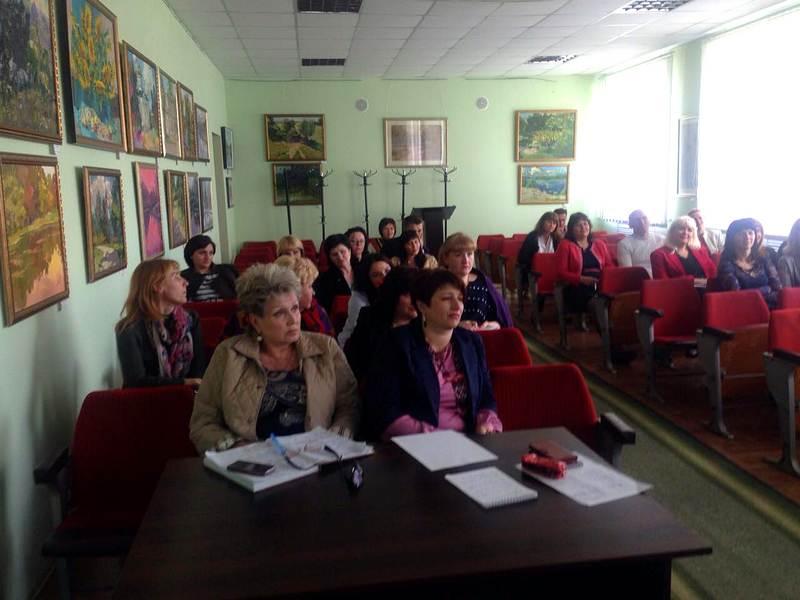 Чиновникам Харьковщины открыли секреты общения (фото)