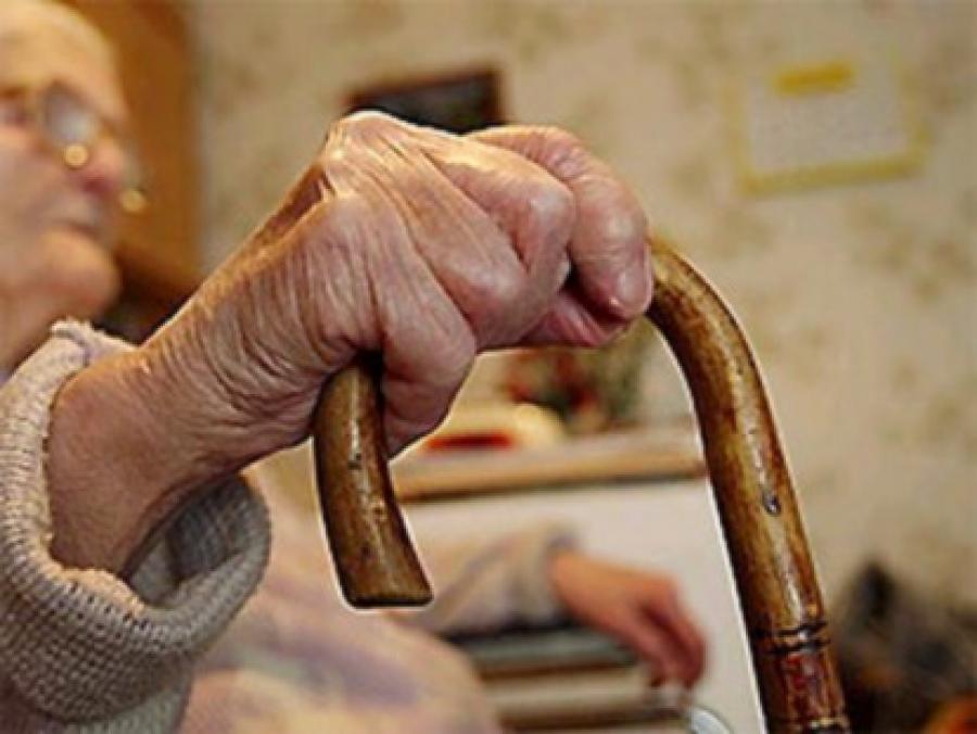 В Харькове жестоко поглумились над пенсионеркой (фото)
